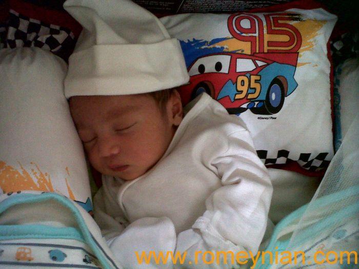 Gabriel at 5 days old