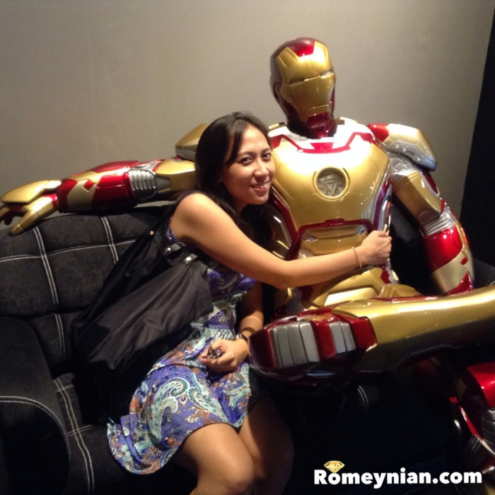 My sister is dating Iron Man
