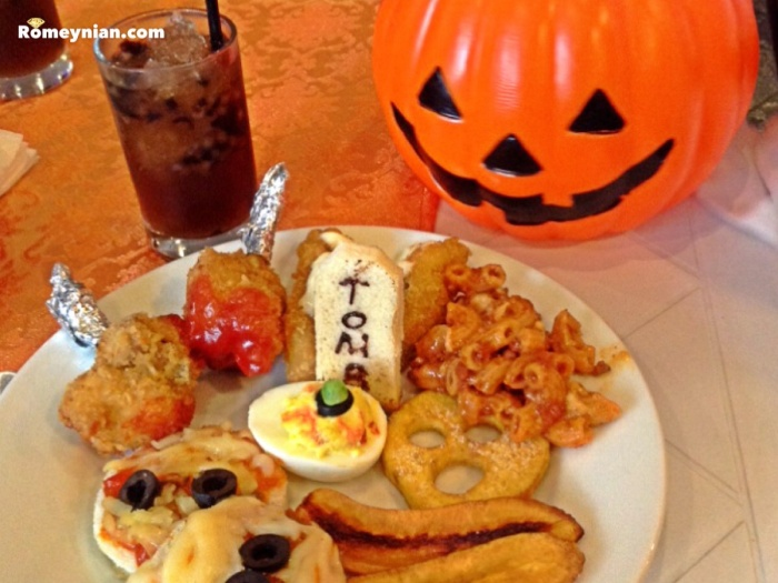 Halloween themed brunch