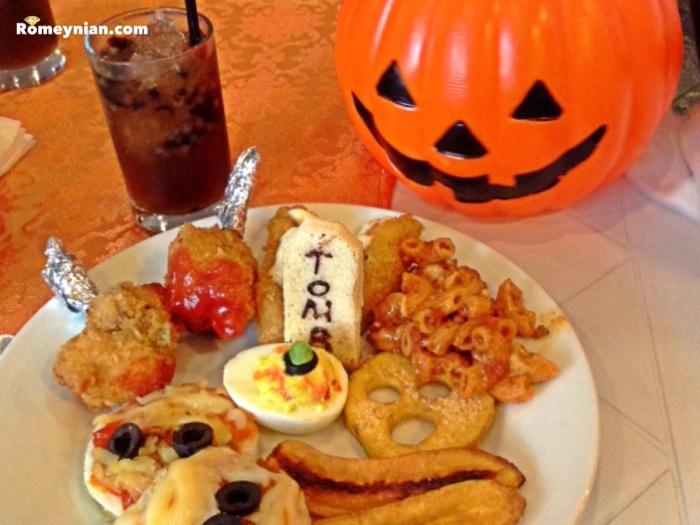 Halloween themed brunch