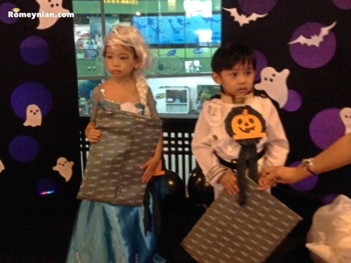 Little Ms. Halloween and Little Mr. Halloween.