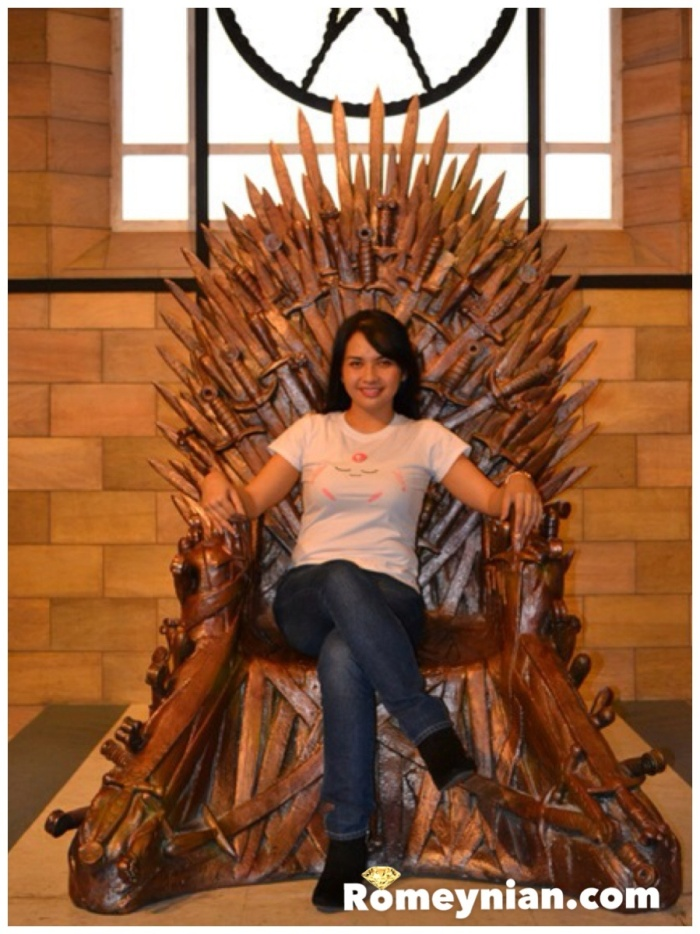 The Iron Throne! Who wouldn't want to sit there!