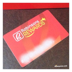 Robinsons Rewards Card
