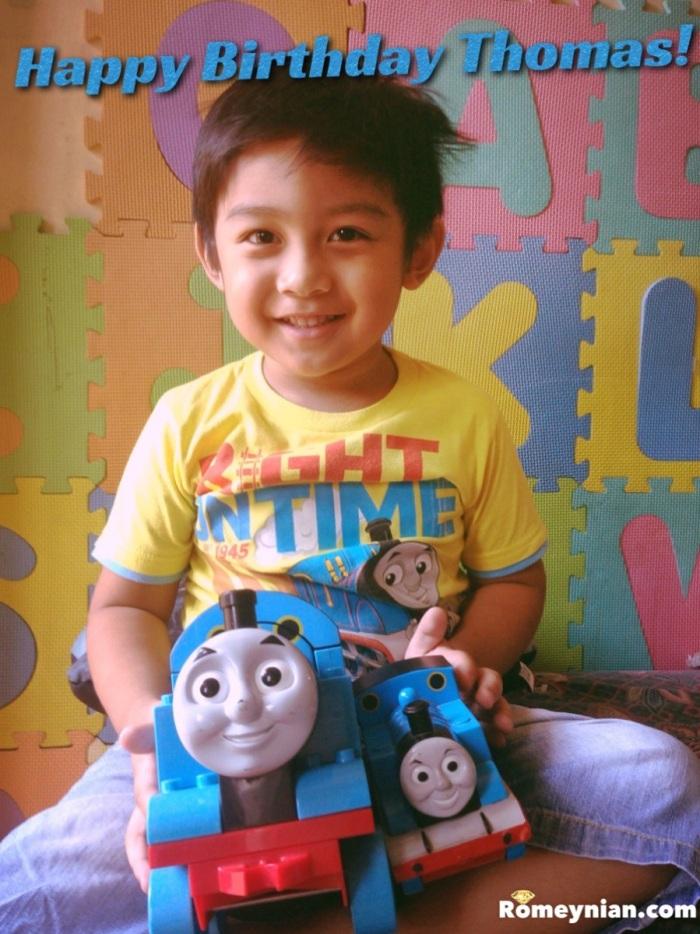 Happy Birthday Thomas!