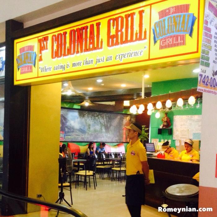 1st Colonial Grill, Gaisano Mall, Legazpi City Albay